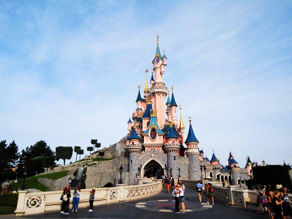 chateau parc disneyland paris
