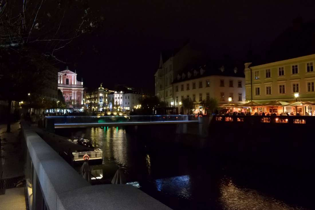 Ljubljana de nuit