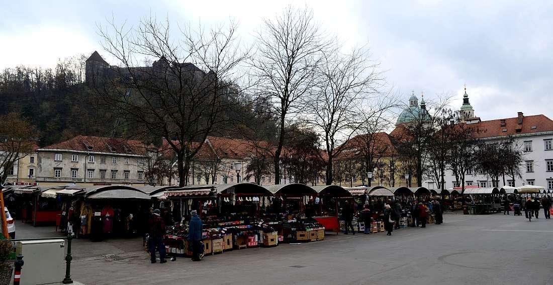 Marché central Ljubljana