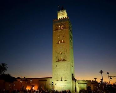 Mosquée Koutoubia à Marrakech