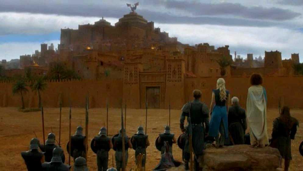 Tournage de Game of Thrones au Ait-Ben-Haddou du Maroc
