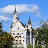 château Neuschwanstein de face