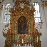 église de wies intérieur