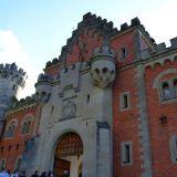 entrée château Neuschwanstein