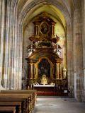 église sainte barbe intérieur