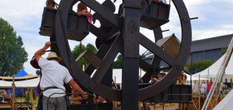 grande roue manuelle médiévale