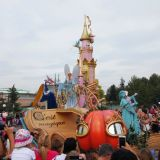 parade disneyland cendrillon