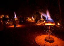 spectacle installation de feu