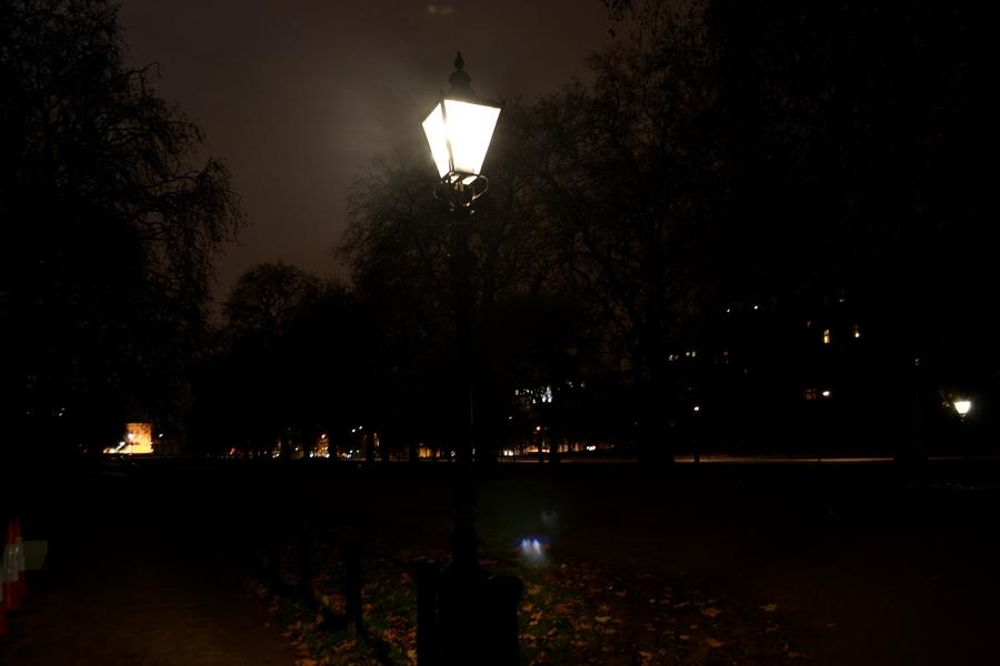hyde park nuit londres