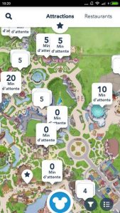 application disneyland paris