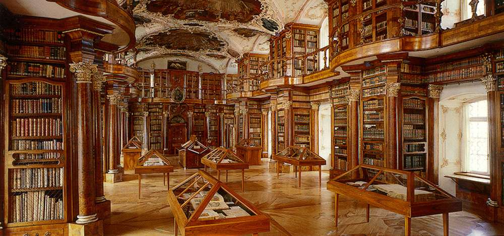 bibliothèque abbaye saint gall