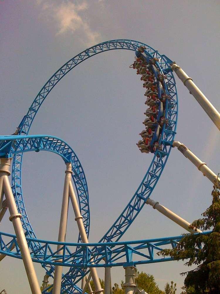 blue fire europa park