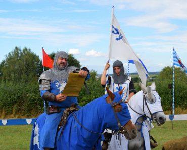 spectacle fête médiévale dudelange