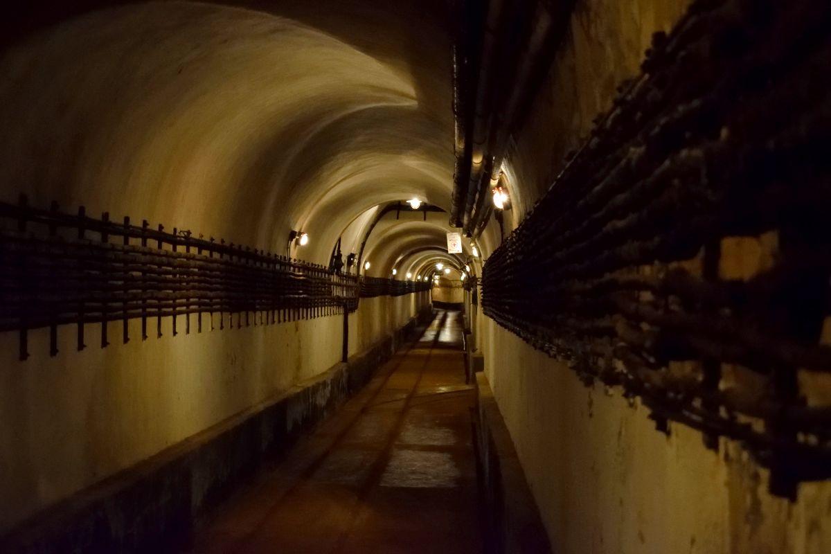tunnel bunker galgenberg