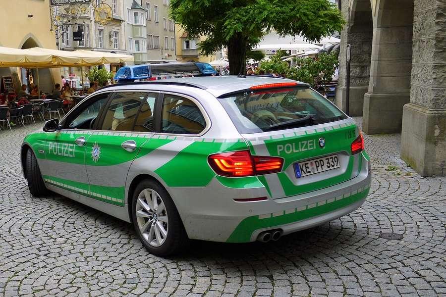 voiture police allemande