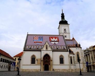 Eglise Saint Marc de Zagreb