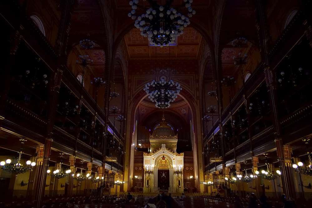 Intérieur grande synagogue