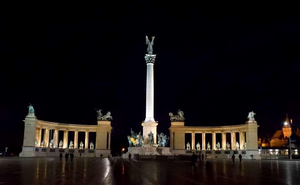 Monument du millénaire à Budapest