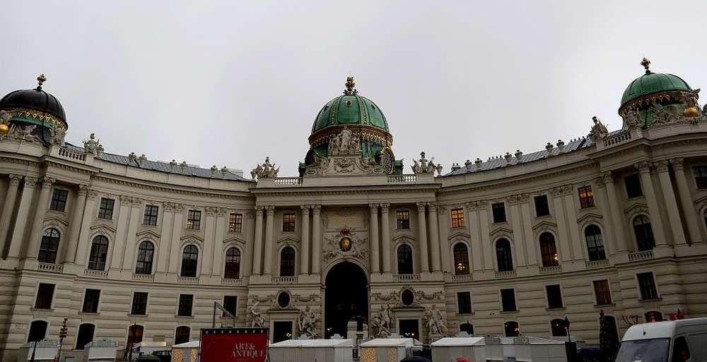palais hofburg de Vienne