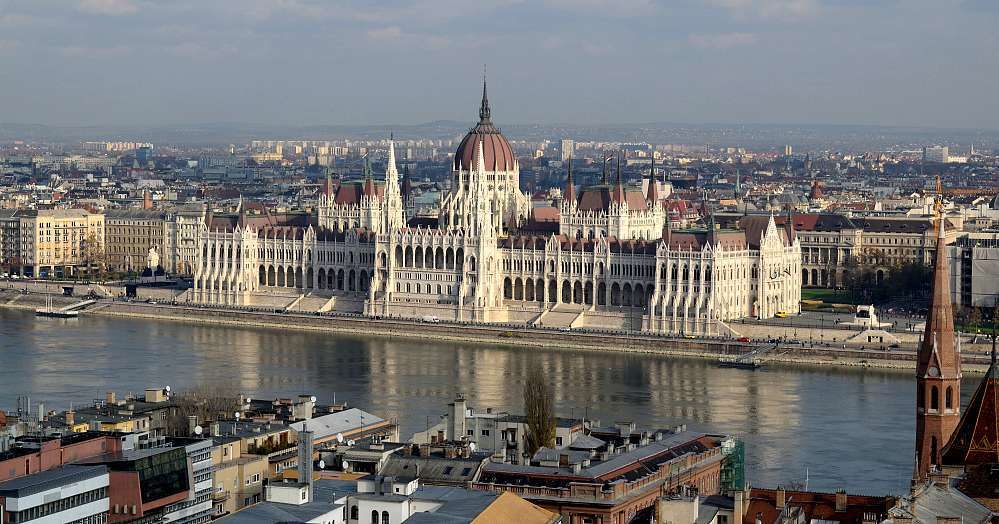 Parlement Hongrois de Budapest