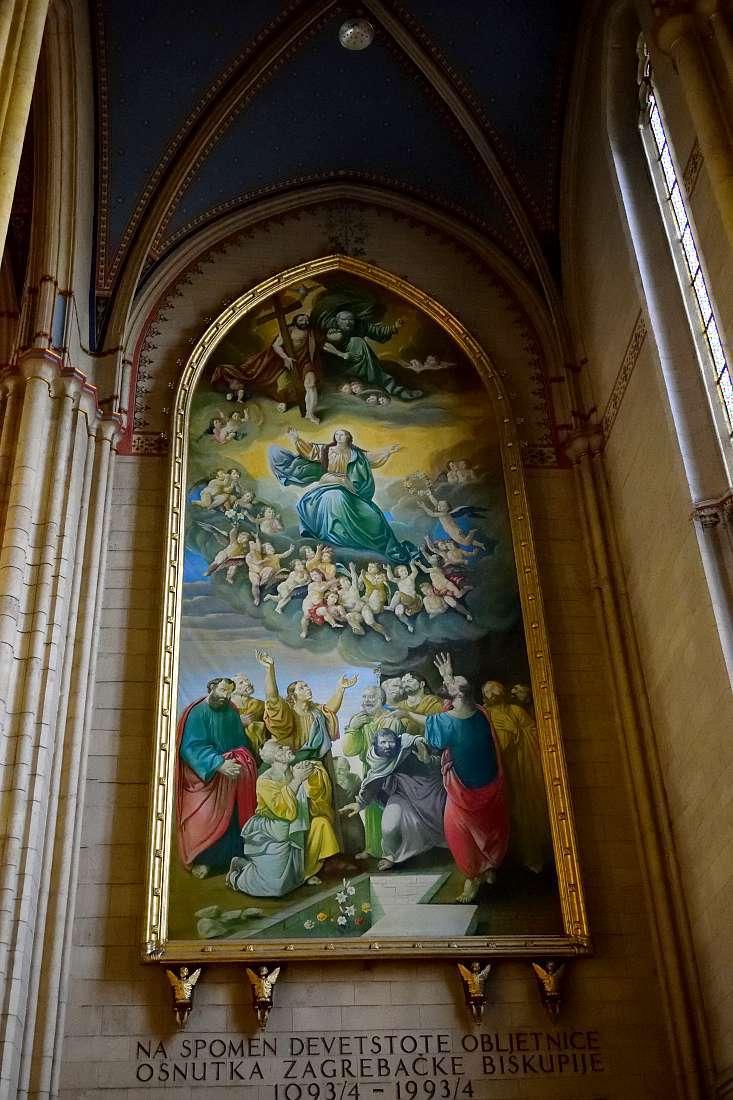Tableau cathédrale Zagreb