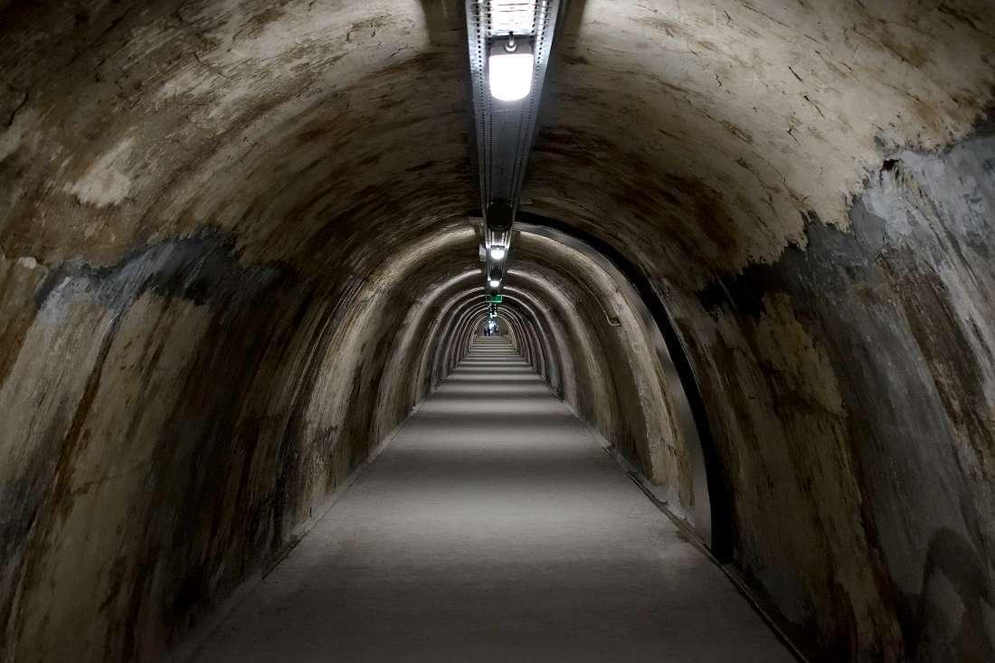 Tunnel souterrain de Zagreb