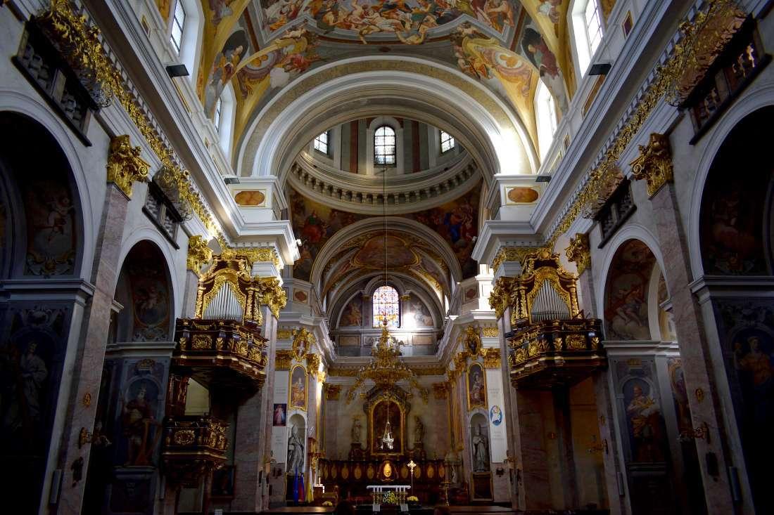 Cathédrale Saint-Nicolas Ljubljana