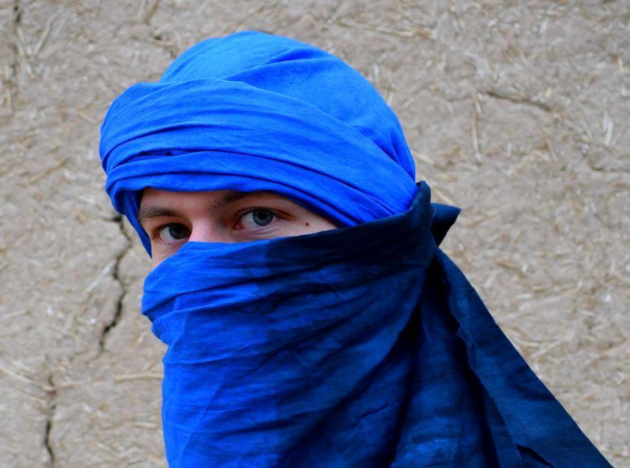 Chèche foulard touareg