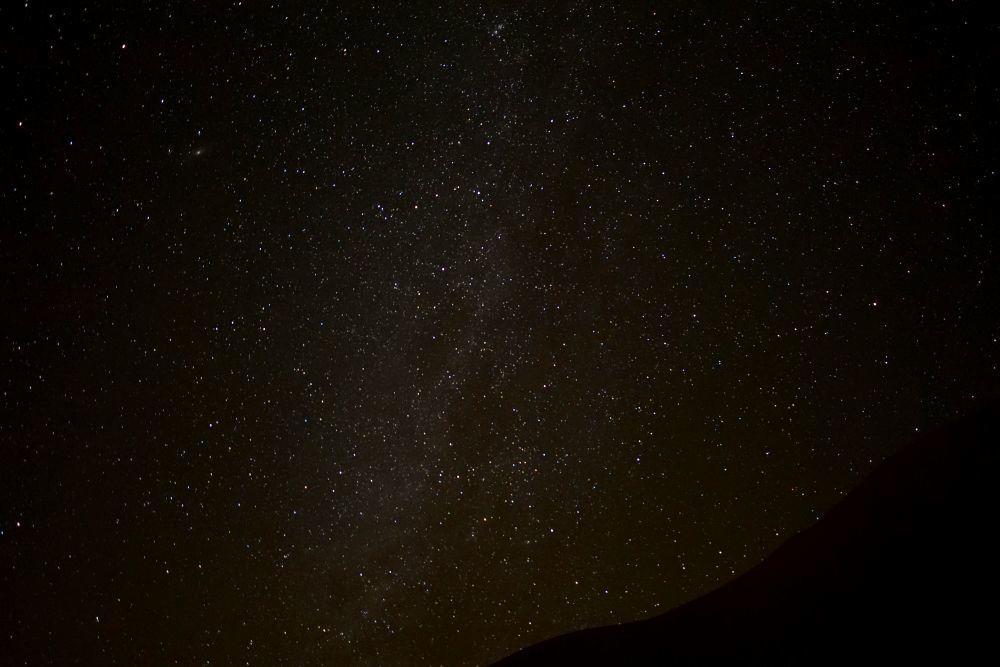 Nuit étoiles désert