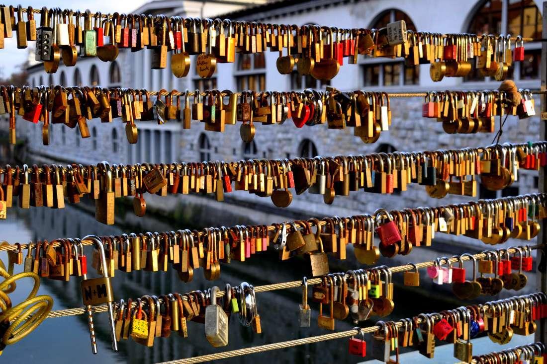 Pont des bouchers Ljubljana