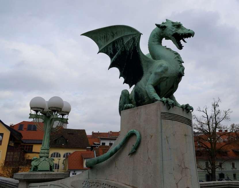 Pont des dragons Ljubljana