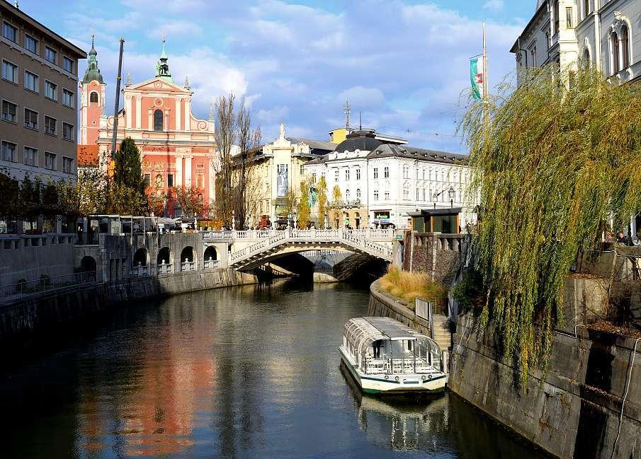 Trois pont Ljubljana