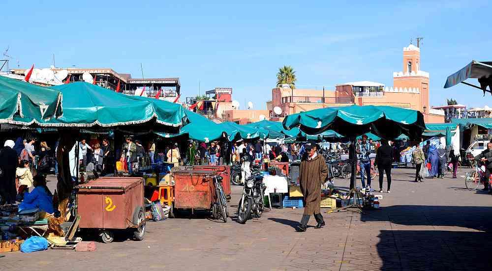 place Jemaa-el-Fna Marrakech