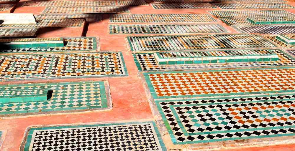 Tombeaux Saâdiens à Marrakech