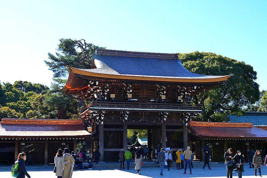 Entrée Meiji-jingū