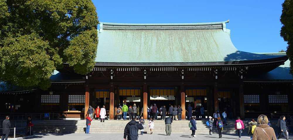 temple Meiji-jingū