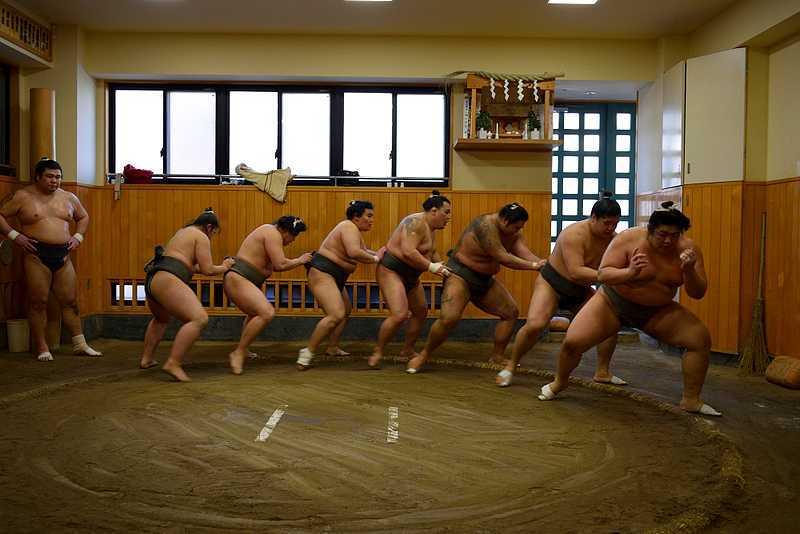 Rituel sumo