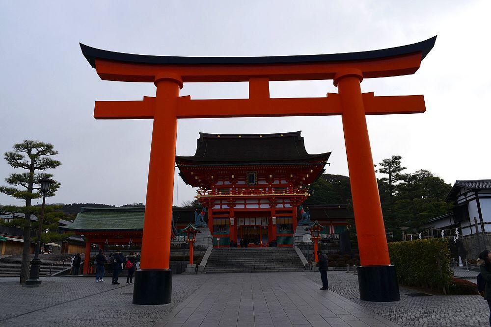 Entrée Fushimi Inari Taisha