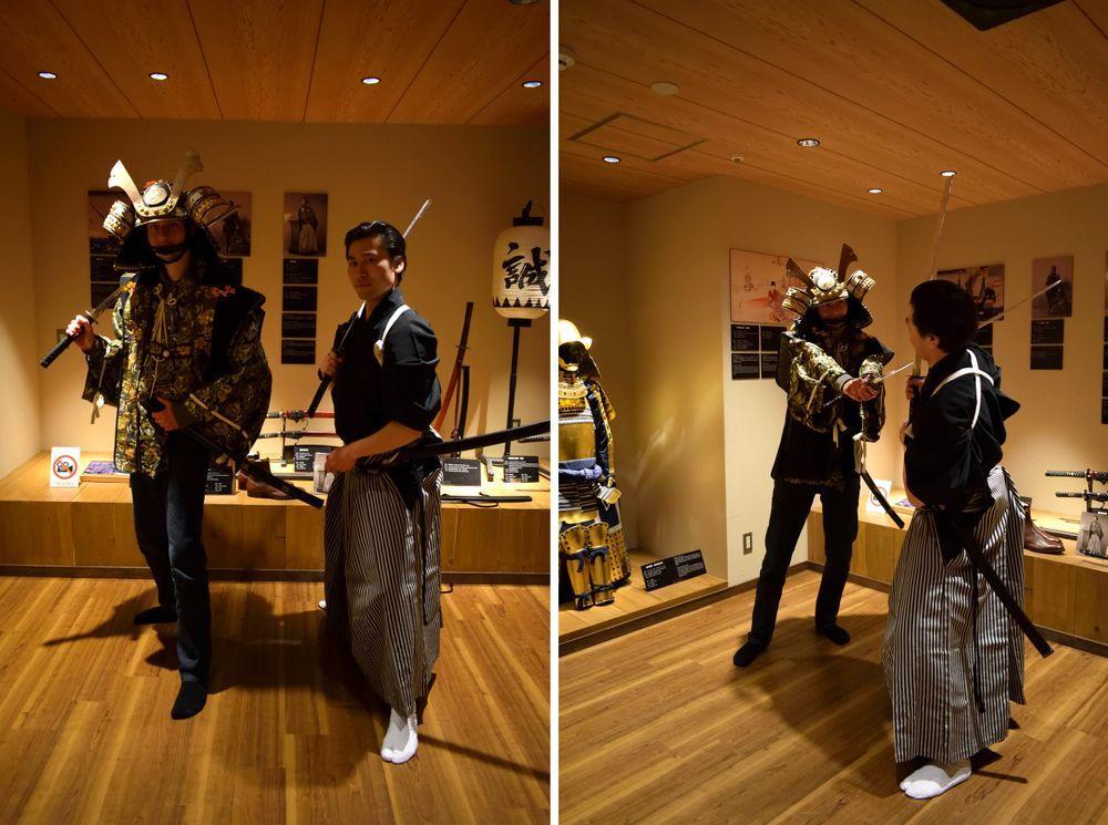 Costume de samouraï