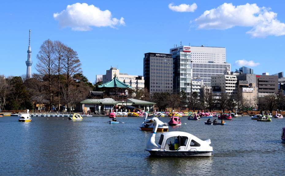 Etang du parc Ueno