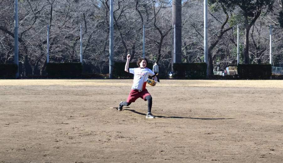 Terrain de baseball parc Ueno