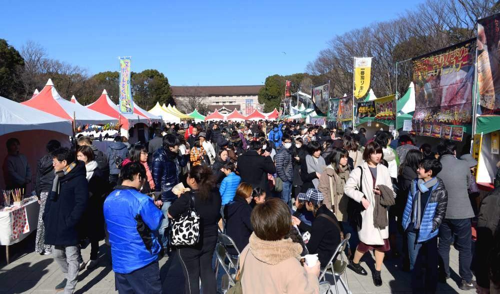 Stands ambulants de Ueno