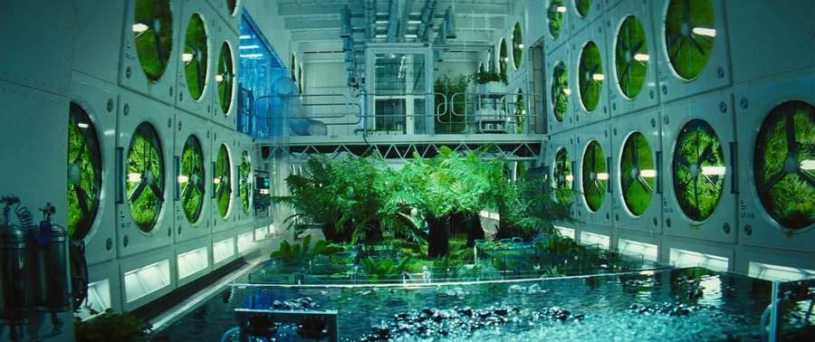 Culture plantes dans l'Espace