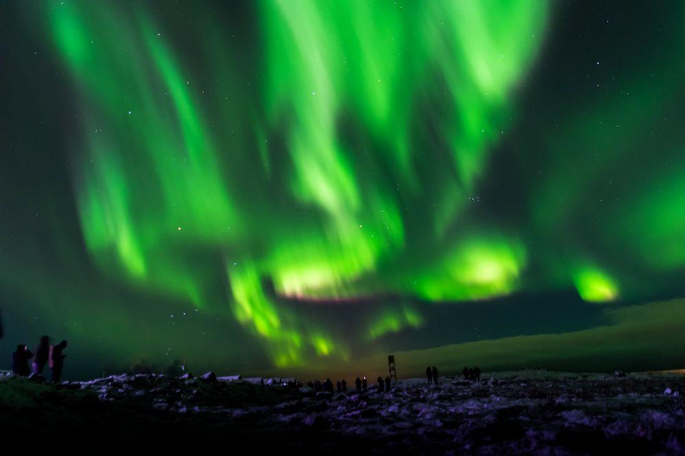 Où voir des aurores boréales en Islande