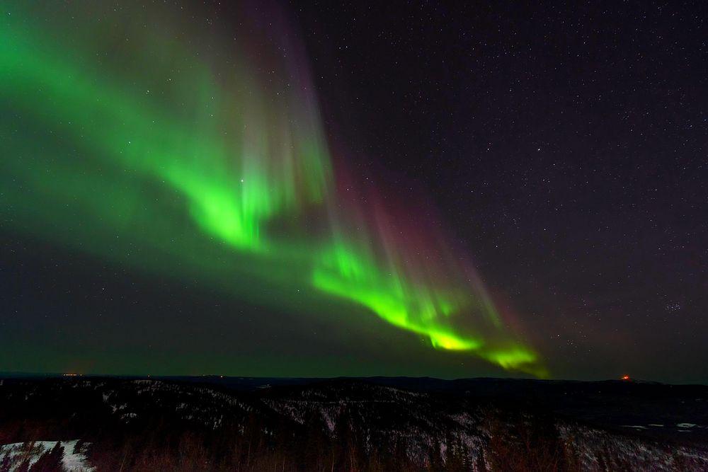 Période aurores boréales Islande