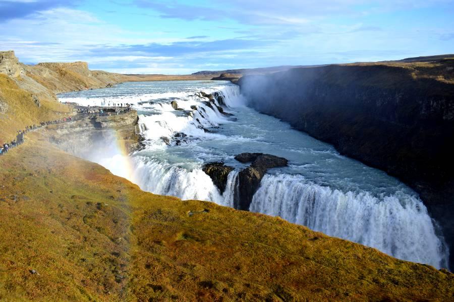 Chute Gullfoss Islande