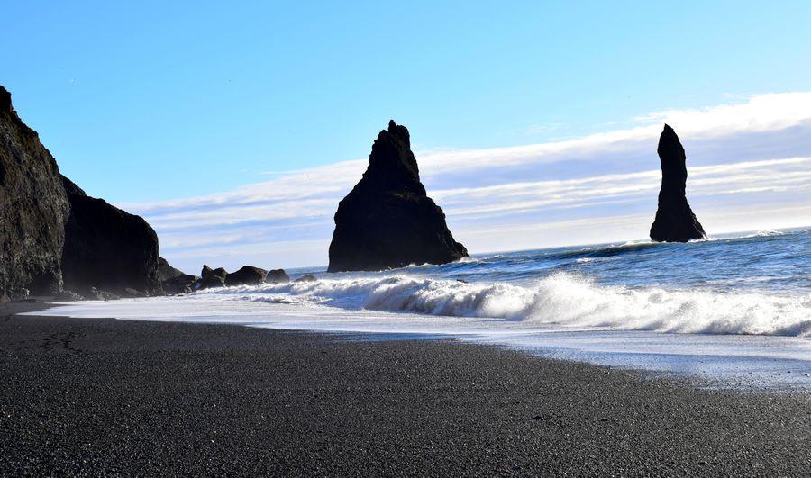 Reynisfjara plage noire