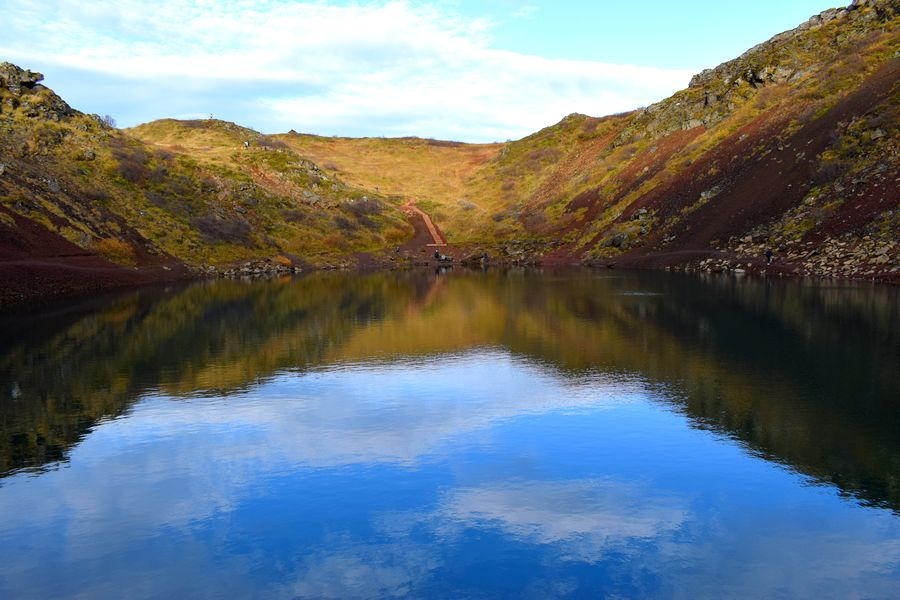 Cratère Kerid Islande