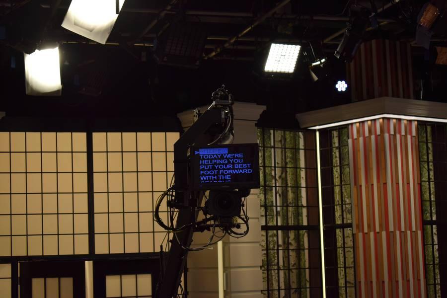 Emission de télévision à Toronto