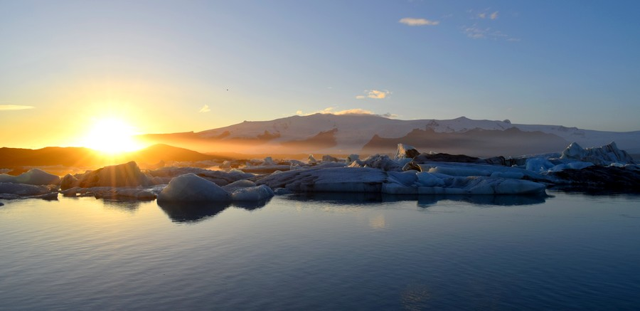 Jokulsarlon Islande